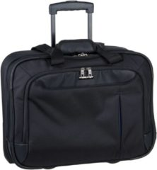 Guardit Up 2-Rollen Businesstrolley 36 cm Laptopfach Samsonite black