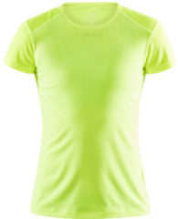 Craft - Dames - ADV ESSENCE SS SLIM TEE W - Geel - S
