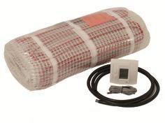 Afbeelding van Boss & Wessing 2,5m2 B&W Heat Elektrische Vloerverwarmingsmat 220V 375W Compleet
