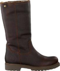Donkerbruine Panama Jack Bambina B82 Klassieke laarzen Dames -Bruin - Maat 37