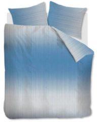 Blauwe Beddinghouse Issey Dekbedovertrek - 2-persoons (200x200/220 Cm + 2 Slopen) - Katoen - Blue