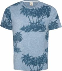 Blauwe Protest MANTON Men T-Shirt - Empire Blue - Maat L