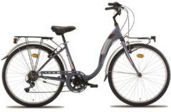 26 Zoll Damen City Fahrrad Montana Liberty 7 Gang Wham grau