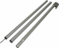 Grijze Travellife Luifelstok - 190-240 cm - 28-25 mm - Aluminium