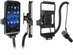 Zwarte Brodit actieve houder met laadkabel voor Blackberry Z30