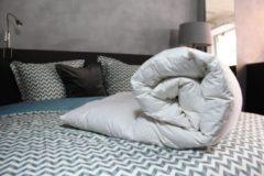 Witte Loiva Nightstar 240 x 200 Donzen dekbed