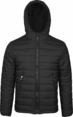 Jartazi Winterjas Bari Heren Nylon/polyester Zwart Maat 3xl