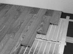 Witte Haceka elektrische vloerverwarming Solum 1.0m2