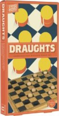 Professor Puzzle Damspel Draughts 29 X 29 Cm Hout Bruin