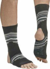 Grijze Gaiam Grippy Yoga Anklets - Smokey Grey - Maat 36-40