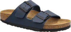 Groene Birkenstock Slippers blauw