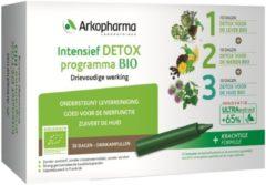 Arkofluids Intensief detox programma bio drinkampullen