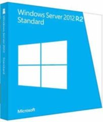 Microsoft Windows Server Standard 2012 R2 x64 Dutch 1pk DSP OEI DVD 2CPU/2VM