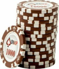 Blauwe ONK Poker Chips 10.000 (25 stuks)