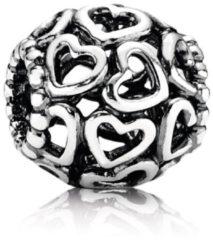 Pandora - Bedel - Moments - Kleine Hartjes - Zilveren bedel