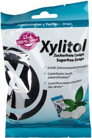 Afbeelding van Witte Miradent Xylitol pastilles 26 stuks | Remineraliserende zuigtabletten | Tegen gaatjes | Suikervrij