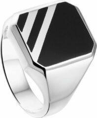 Vigor Zegelring Onyx - Zilver