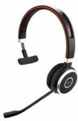 Jabra Evolve 65 UC Telefoonheadset USB Draadloos, Mono On Ear Zwart, Zilver