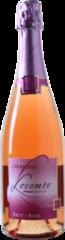 Donkerrode Wijnvoordeel Lecomte Père et Fils Champagne Brut Rosé