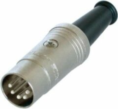 REAN NYS322 DIN 5-pins 180° (m) connector / metaal