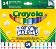 Viltstiften met kegelpunt Crayola - 24 stuks - Knutselset Tekenen Crayola