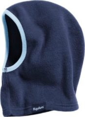 Playshoes - Kid's Fleece-Schlupfmütze - Muts maat One Size, blauw/zwart