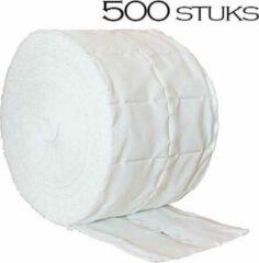 Merkloos / Sans marque Celstof doekjes / celstof deppers 500 stuks, pluisvrij! Ook voor voor het verwijderen van de gel lak / gellak / gelpolish / shellac / gelnagellak, nagellak, reinigen van de penselen, kwasten, vijlen, desinfecteren van de nagels.