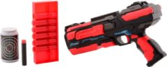 TackPro Tack Pro Clip 1 6 Darts Lichtgevende Blaster Zwart/Rood (darts incl)