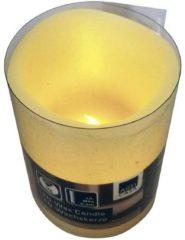 LED-kaars met echte was Ivoor Warm-wit (Ã x h) 5 cm x 6.5 cm