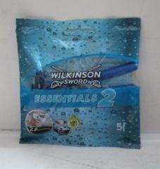 Wilkinson Sword Wilinson Sword Essentials 2 - 5 stuks scheermesjes