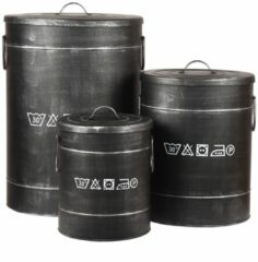 LABEL51 - Wasmand - Antiek Zwart - M
