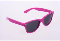 Haga Eyewear Zonnebril Kind 5-10 Jaar Wayfarer Roze (1st)