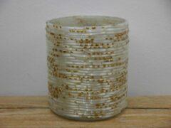Gouden Sense Waxinelichthouder -kaarsenhouder - theelichtenhouder- sfeerlicht wit