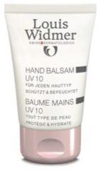 Louis Widmer Hand Balsem UV 10 Licht Geparfumeerd Handverzorging 50 ml