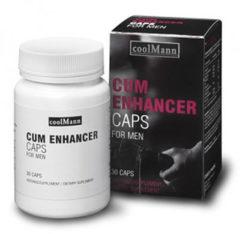 CoolMann Cum Enhancer - 30 capsules - Sperma verbeteraar - Stimulerend Middel