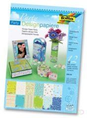 Designpapier Folia party
