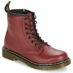 Bordeauxrode Boots en enkellaarsjes 1460 J by Dr. Martens
