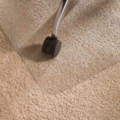 Transparante Floortex vloermat Cleartex Ultimat voor tapijt rechthoekig formaat 120 x 134 cm