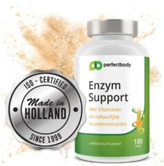 Supreme Nutrition Enzym Support - 180 Vcaps - PerfectBody.nl