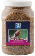 CJ wildlife gedroogde meelwormen in pot 440g