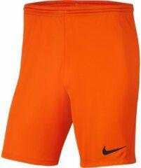 Nike Park III Sportbroek - Maat L - Mannen - oranje
