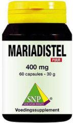 Snp Mariadistel 400 Mg Puur Capsules
