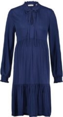 Blauwe Queen Mum Jurk Dress - Medieval Blue - Maat XS