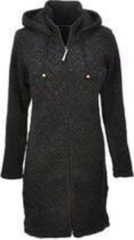 Antraciet-grijze Pure Wool Pure Wool - Antraciet - Vest Dames - 100% Wol Unisex Vest Maat M