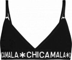 Chicamala Muchachomalo Meisjes ondergoed Muchachomalo Girls Triangle Top Solid zwart 134/140