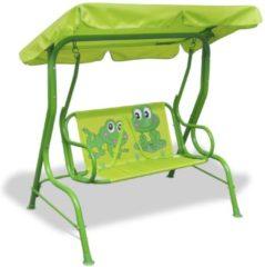 Groene VidaXL Kinderschommelstoel groen