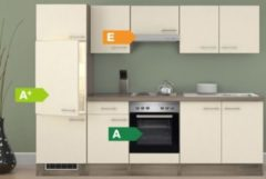 Flex-Well Küchenzeile G-270-2208-000 Eico 270 cm - 4-Platten-Kochmulde