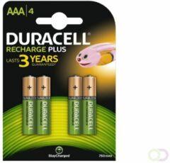 Duracell batterij, oplaadbaar niMH, diameter 10.5mm grootte aanduiding mignon