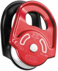 Rode Petzl - Rescue - Haspel voor touw rood/zwart