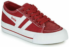 Rode Lage Sneakers Gola QUOTA II